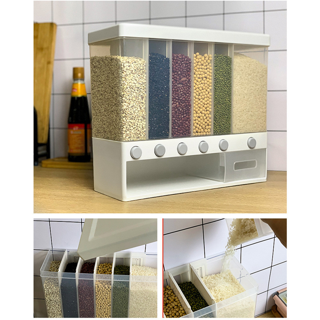 Wall Mounted Dry Food Dispensers