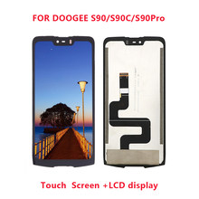 DOOGEE S90 New Original 6.18 inch Touch Screen+LCD Display Assembly Replacement For Doogee S90/S90 Pro/S90C Android 8.1(China)