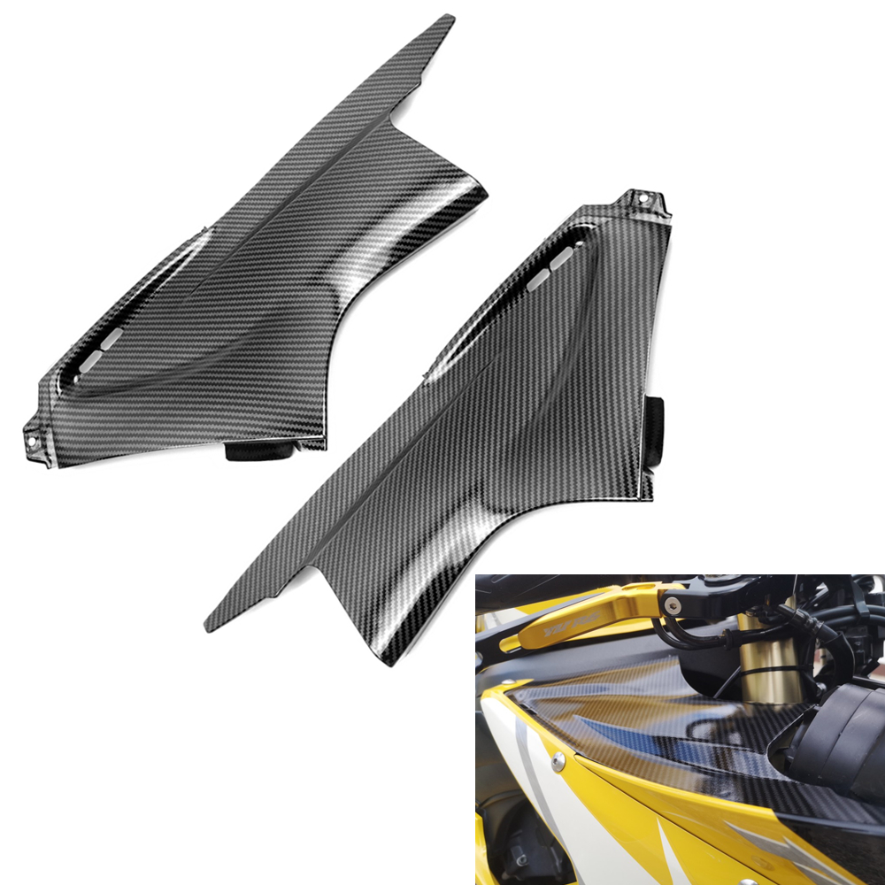 Пылезащитный чехол для мотоцикла, обтекатель, вставка, деталь, подходит для Yamaha YZFR6 YZF R6 03-05, черный/углеродное волокно