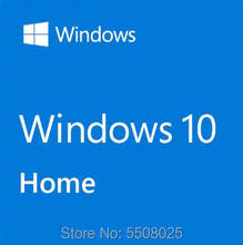 Microsoft Windows 10 Home Sistem Operasi 32/64 Bit Produk Global Kunci Win 10 Keluarga Universal Versi Lisensi(China)