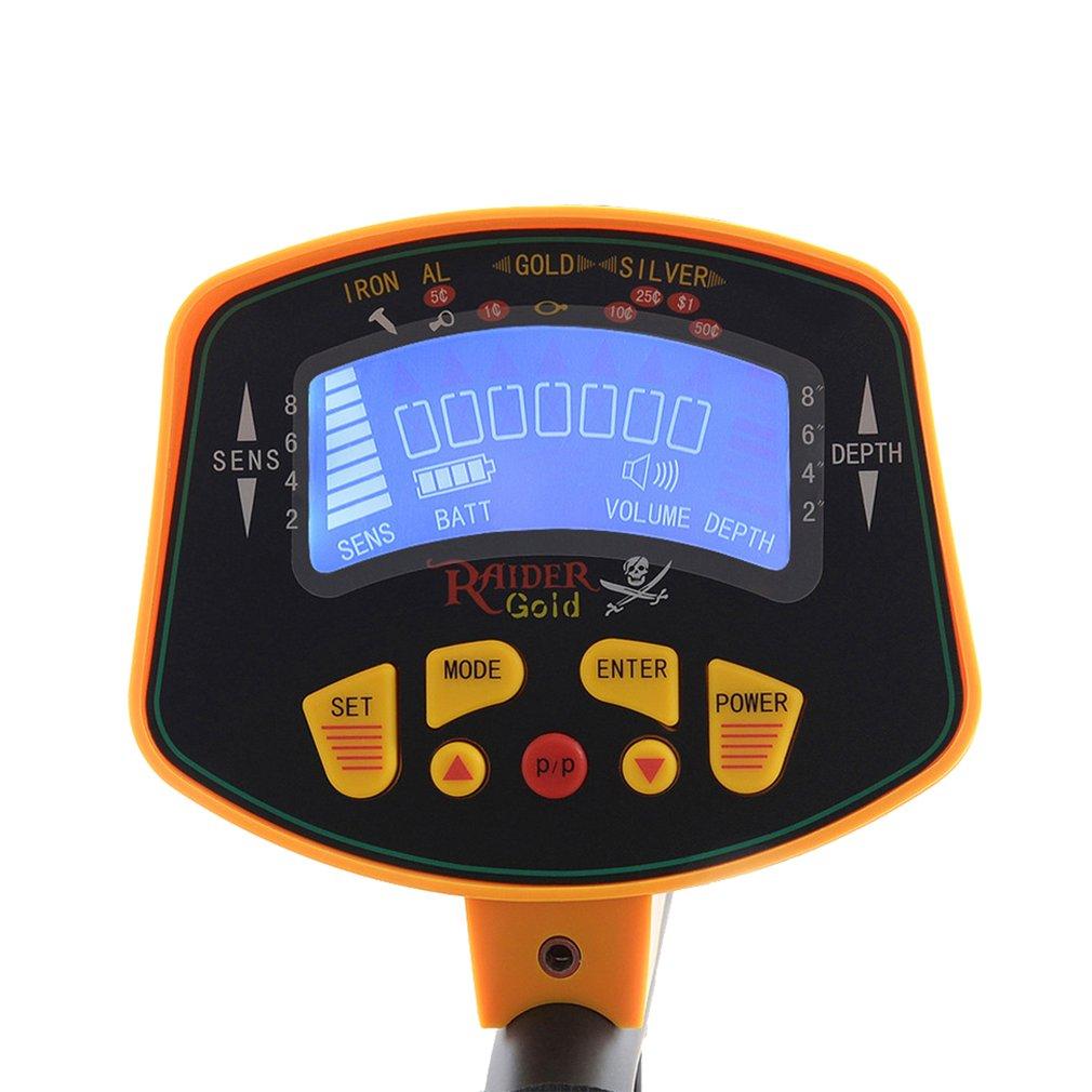 profissional handheld display lcd detector metais 04