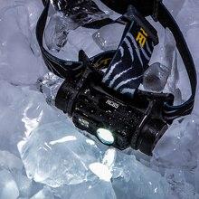 NITECORE HC65  40C נמוך טמפרטורת עמיד נטענת סוללה פנס 1000LM 3LED פנס עמיד למים נסיעות משלוח חינם