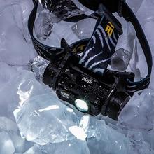NITECORE HC65  40C Niedrigen Temperatur Beständig Akku Scheinwerfer 1000LM 3LED Scheinwerfer Wasserdichte Reise Kostenloser Versand