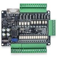 Placa de controle industrial FX3U 24MT 14 entrada 10 saída 24 v 1a plc placa de controle industrial Reconhecimento de voz/Módulos de controle     -