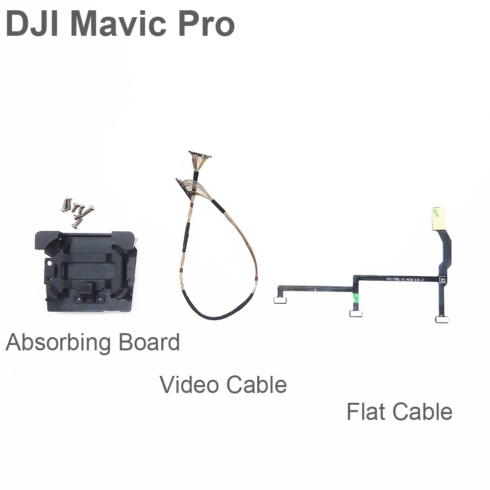 Optional DJI Mavic Pro Flex Flat Cable & Flexible Gimbal PTZ Signal Transmission Cable & Shock-Proof Vibration Absorbing Board