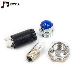 Image 5 - 5Pcs Power Indicator Lichten Signaal Lamp Diamant Hoofd Lamp Bestaat Uit Een Lamp Versterker Onderdelen Diy Audio Gratis Verzending