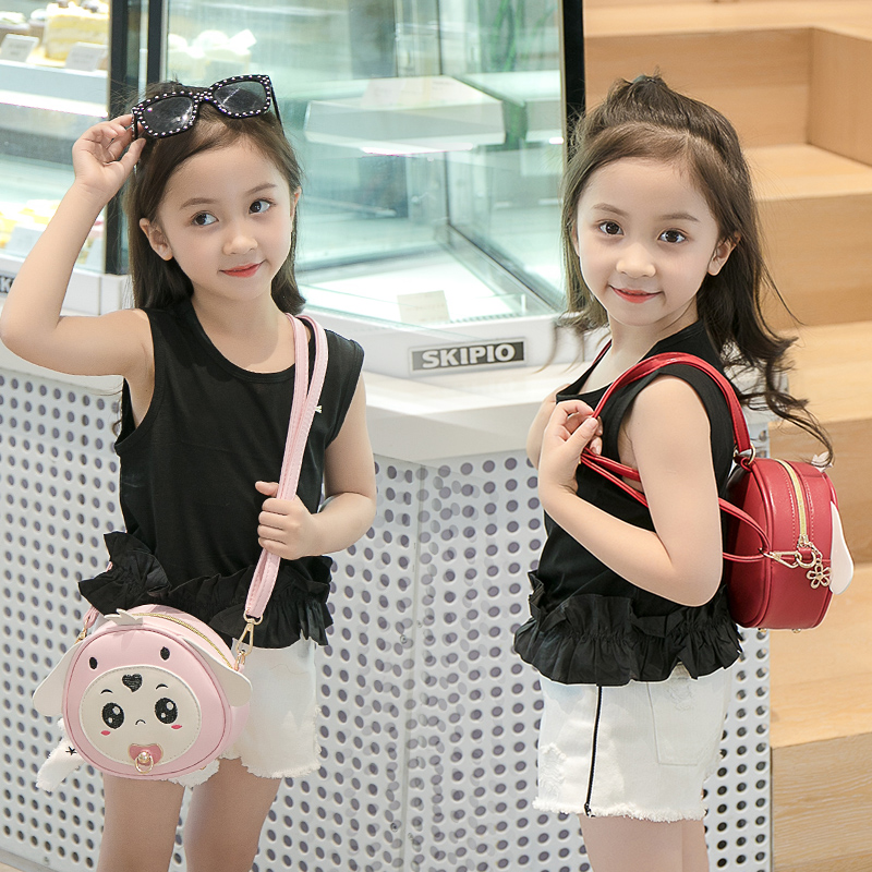 Kids Bags Fashion Cute Lightweight Trendy Girls Messenger Bag Princess Children Baby Single Backpack