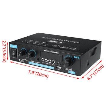 Mini 2.0 Channel Digital Amplifier 110V/220V 400W+400W 6