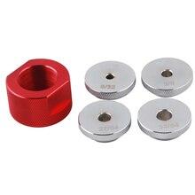 1.375X24 Aluminium Jig Baffle Kegel Cups Guider Brandstoffilter Auto Motor 10 Inch Mst Solvent Vallen Adapter