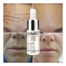 LANBENA Face Serum Six Peptides Natural Remover Skin Hyaluronic Acid Collagen Anti-Aging Wrinkle Whitening Skin Care