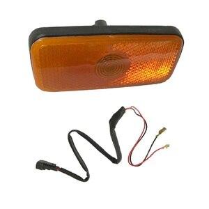 Image 3 - הכי חדש צד מרקר אור מנורת ג מבו פגז צד אורות מעטפת עם חיווט לרתום עבור פורד מעבר MK6 MK7 2000 2013 1671689