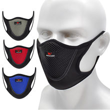 FILTER Face-Mask Cycling Shield Mesh Bike Dust-Training PM2.5 Riding WOSAWE Breathable