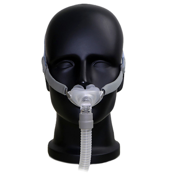 Adjustable BMC CPAP Snoring Machine Portable Breathing Device With Nasal Mask Headgear Strap For Sleep Apnea