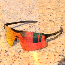 Evzero FUll color Lens Polarized TR90 Sports Glasses Men MTB Mountain Road Bicyc