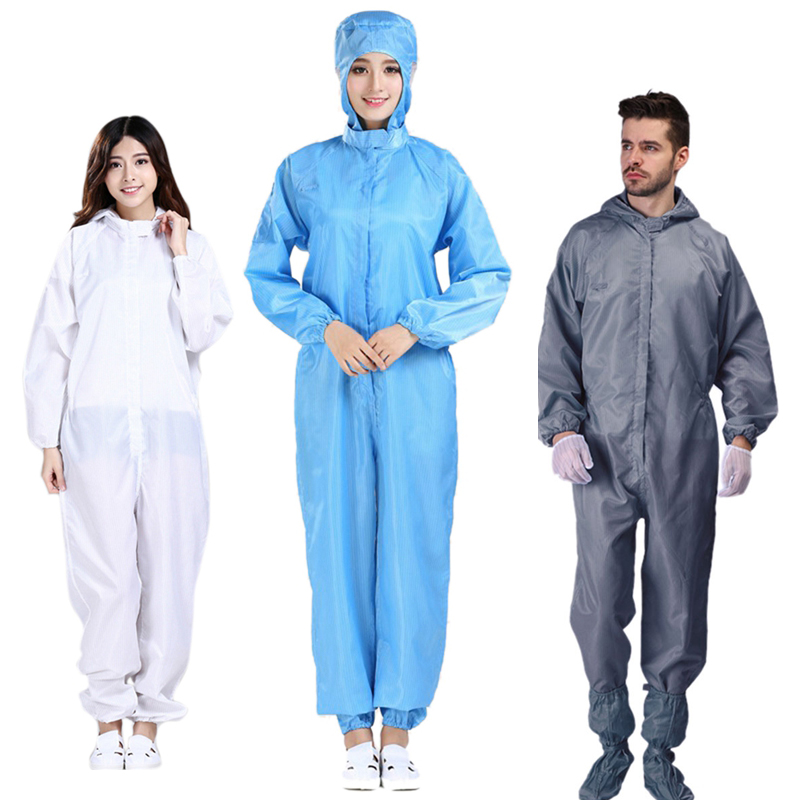 2020 Scrubs Medical Uniforms Hospital Nurse Uniform Siamese Protective Clothing Medical Protective Suit Isolation Suit Women