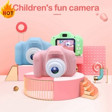 HD Mini Digital Camera Toys for Kids 1080P 2 Inch Screen Chargable Photography Props