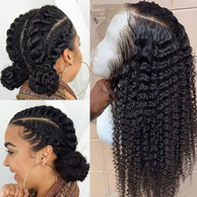 Curly Full Lace Human Hair Wigs For Women Brazilian Deep Wave Lace Front Human Hair Wigs Glueless Full Lace Wig 250 Density Wig