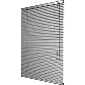Image 2 - Angepasst 25mm Lamellen Aluminium Fenster Jalousien UV Proof Bohren oder Keine bohrer system Blackout Jalousien für Zu Hause Dekoration