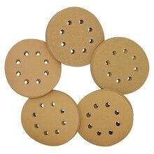Sanding-Discs Orbital-Sander 150 Hot-5-Inch 8-Hole 60-80-120 220-Grit Hook Loop Include
