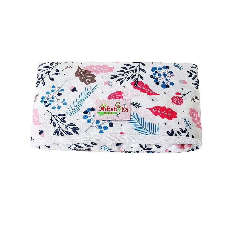 Новые 3 в 1 Водонепроницаемый пеленальный коврик пеленки мнчества, Портативный чехол для детских подгузников коврик чистой ручной складной сумка из узорчатой ткани - Цвет: HND01
