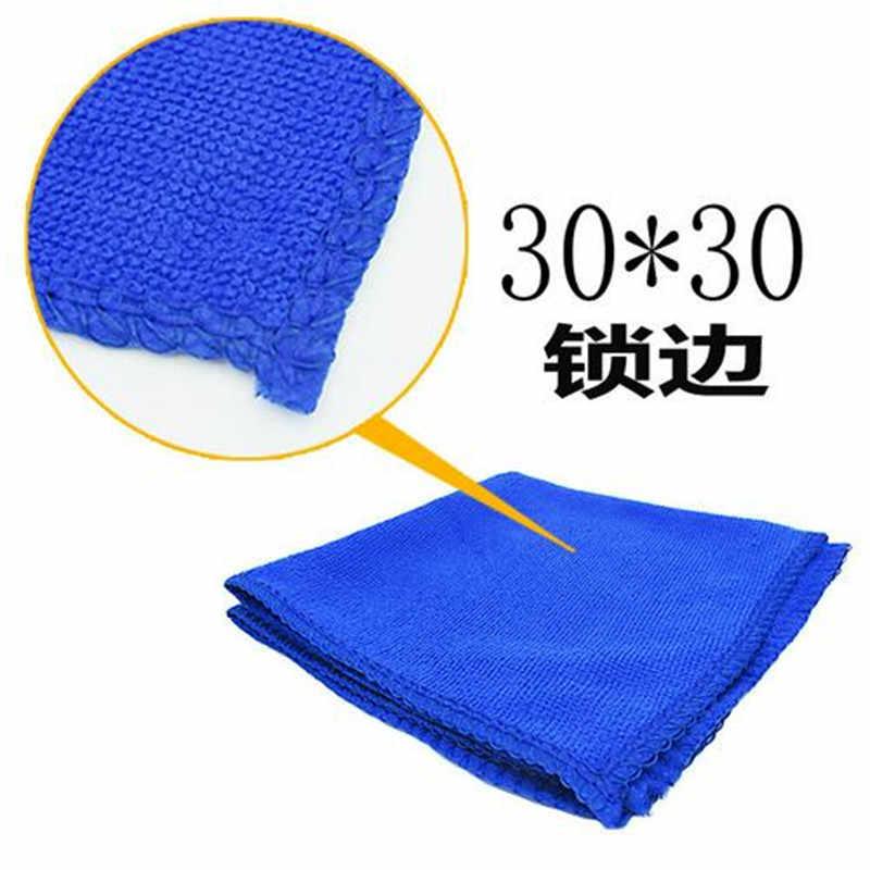 30x30cm coche microfibra nano limpieza lavado de coches, toalla seca limpia polaco de cuidado al detalle coche accesorios de Auto producto