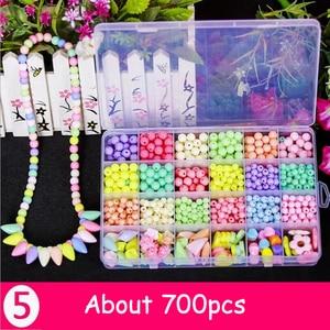 460-750pcs Diy Handmade Beads