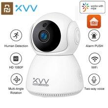 Original Xiaovv Q8 HD 1080P 360° Panoramic IP Camera Onvif IR Night Vision Motion Detect Home Security Baby Monitor CCTV Camera
