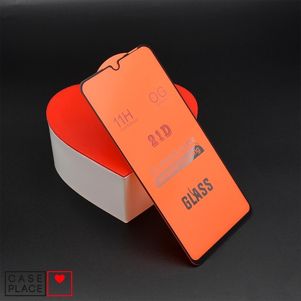Защитное 3D стекло для Meizu Note 9 черное Закаленное Полное покрытие|Защитные стёкла и плёнки для телефонов| | АлиЭкспресс