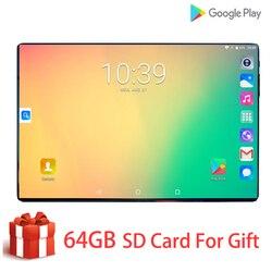 Новый глобальный 10,1 дюймовый планшет 3g 4G FDD LTE Android 9,0 Восьмиядерный 1280X800 ips 2.5D сенсорный экран ram 6 ГБ rom 128 ГБ gps планшет 10,1