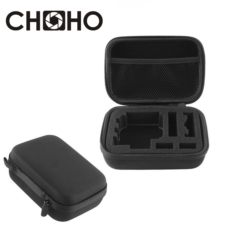 Navitech 9 in 1 Action Camera Accessory Combo Kit and Rugged Black Storage Case Compatible with The XIAOMI MIJIA Camera Mini
