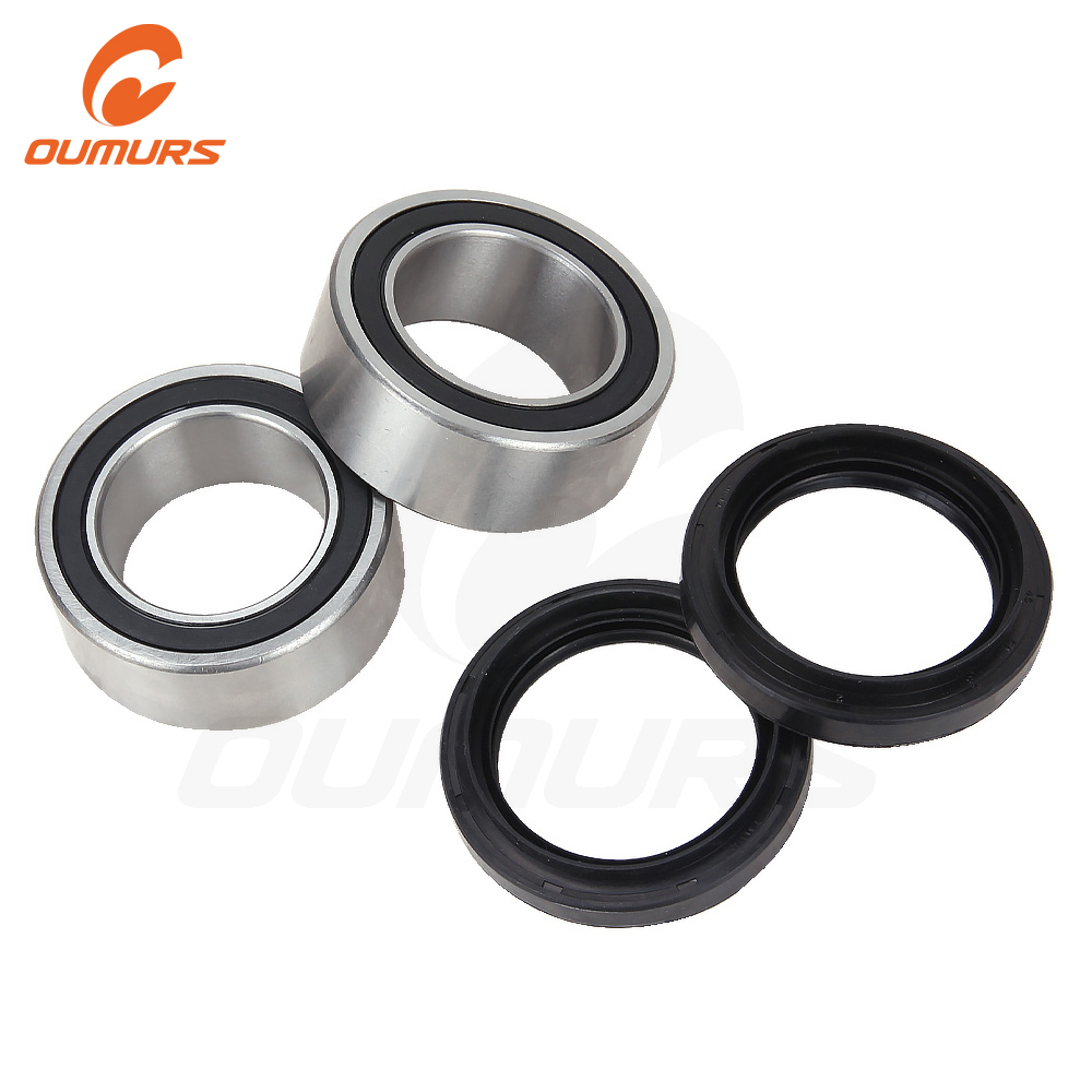 OUMURS Motorcycle ATV Rear Wheel Axle Upgrade Bearing Seal Fits For Yamaha Raptor 700 YFM700 YFM 700R 2006-2018 OE Carrier