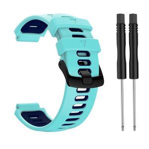 Image 4 - 22mm opaska na rękę dla garmin forerunner 735xt/220/230/235/620/630 silikonowa bransoletka sportowa Watchband silikonowa bransoletka z paskiem wymiana Sma