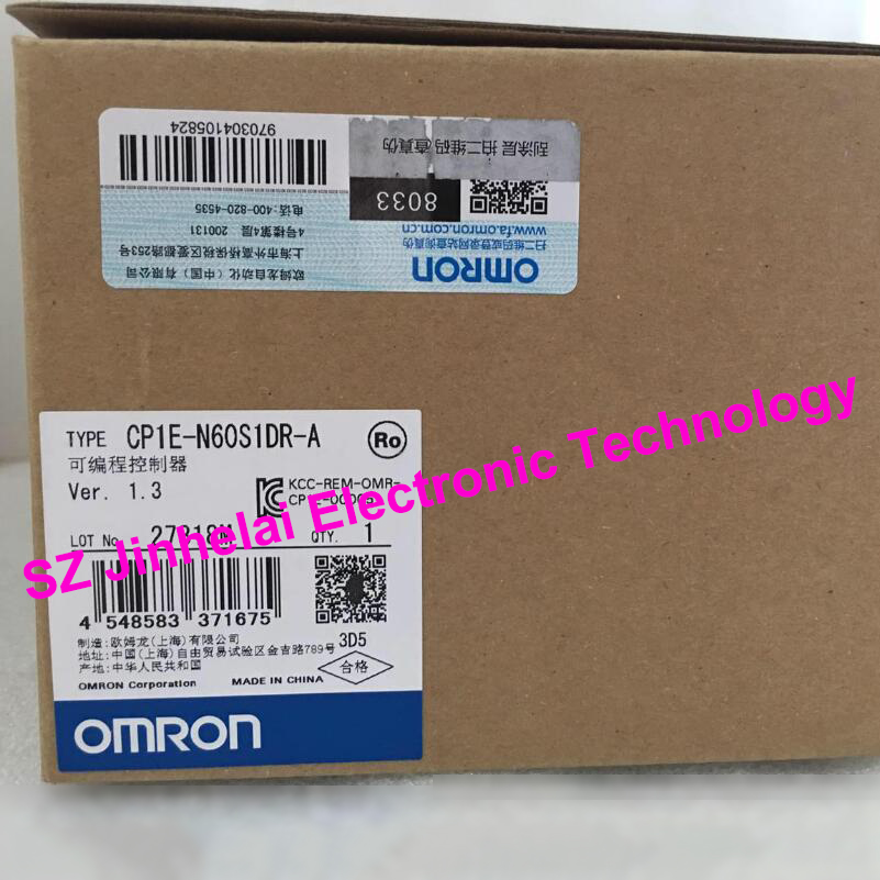 New and original CP1E-N60S1DR-A OMRON Programmable controller