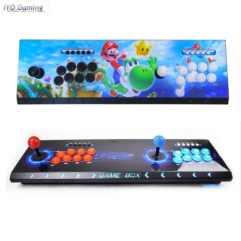 IYO Pandora Box 3D Arcade Box 2448 In 1 Wifi Version No Delay Joystick Light Buttons PCB Controller Retro Arcade Console