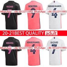 20 21 Top Quality shirt MARCELO new home away BENZEMA MODRIC HAZARD VALVERDE third 2020 2021 Real MadridES shirt JOVIC