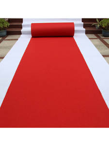 Red Carpet Stairs Corridor Travel Disposable Pad Exhibition Wholesale