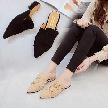 Pointed toe slippers mules for women  6