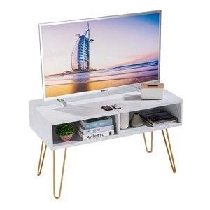 Шкаф для телевизора [106x50x62,5 см] белый (ТВ-шкаф)