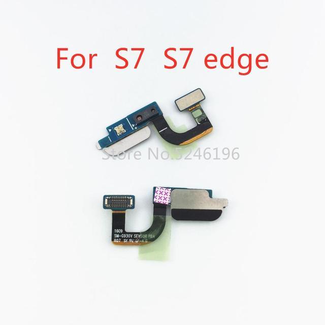 Do Samsung Galaxy S7 G930F G930U G9300 S7 krawędzi G935F G935U G9350 czujnik zbliżeniowy światła otoczenia Flex Cable PCB płytka drukowana tanie i dobre opinie LingLiWei For Samsung Galaxy S7 S7 edge Zbliżeniowy Otoczenia Czujnik Światła
