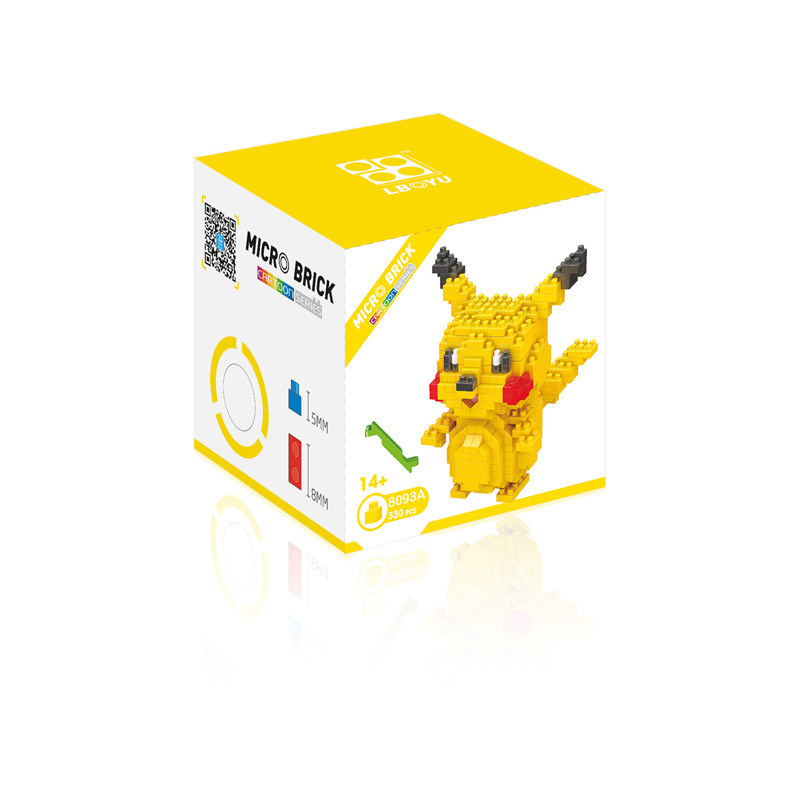 Pokemon Building Blocks Anime Figures Assembling Plastic Abs Diy Toys Creative Educational Model Toys for Children Boxed New 5