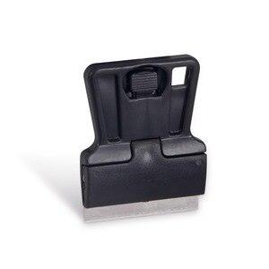 Image 3 - EHDIS – lame de raclette de nettoyage de voiture, en Fiber de carbone, en acier, vinyle, grattoir, verre, colle, autocollant, outil de teinte de fenêtre, 3 pièces, 100 pièces