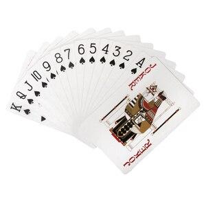 Image 2 - Xiaomi iskambil kartları Poker tahta oyunları kurtadam öldürmek oyun iskambil kartları su geçirmez kartları 3 10 kişi parti toplama oyunu kartları