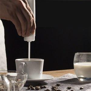 Image 4 - ออกแบบใหม่แบบพกพาเครื่องผสมอาหารไข่Whiskแบตเตอรี่AAAเครื่องดื่มนมกาแฟปัดMixerไข่ไฟฟ้าFrother Foamer Stirrer