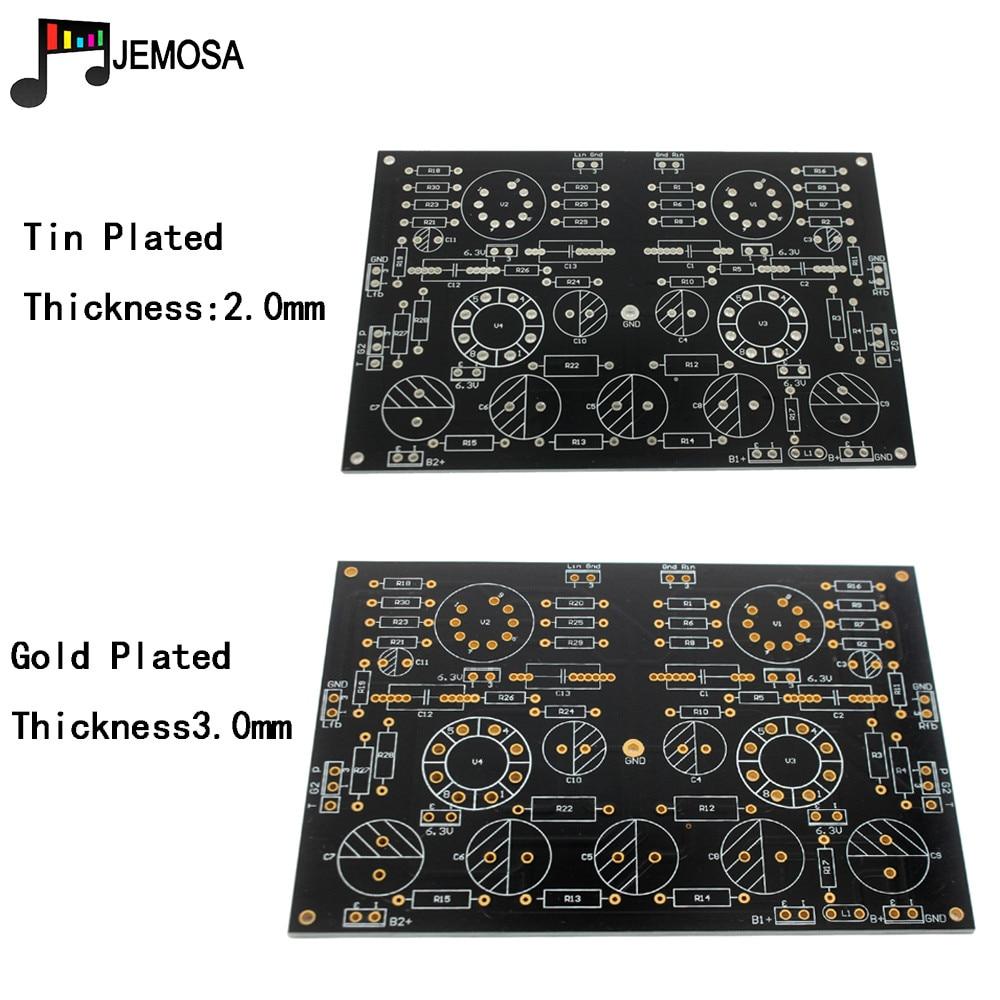 DIY Projects Audio Single-ended Amplifiers Board 185*125 FR4 PCB Board EL34 Board Free Shipping
