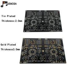 Projekty DIY Audio Single ended płyta wzmacniacza 185*125 FR4 płytka drukowana EL34 Board darmowa wysyłka