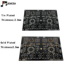 Projets de bricolage Audio amplificateurs à une extrémité carte 185*125 FR4 carte de circuit imprimé EL34 carte livraison gratuite