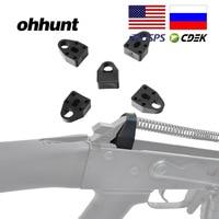Ohhunt 5 pçs 7.62x39 recoil amortecedor ak 47 almofada de absorção choque redutor para tático AK-47 saiga galil valmet