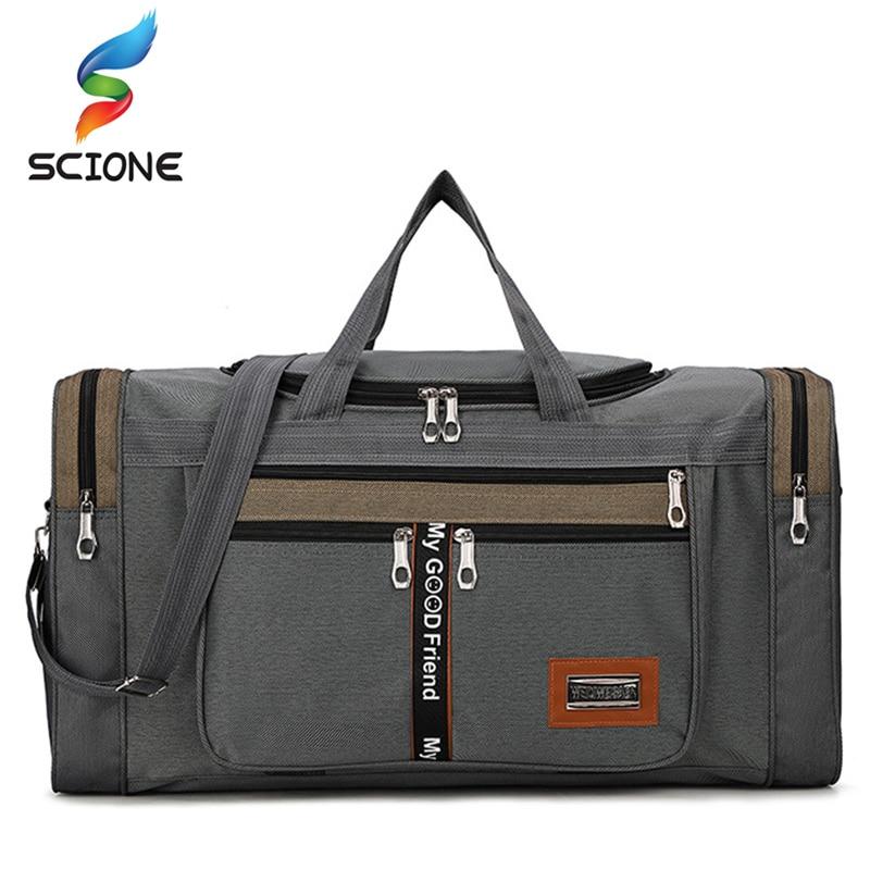 Women Travel Gym Bag For Man Weekend Bag Outdoor Big Capacity Bag Nylon Portable Travel Carry Luggage Bags