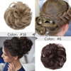 Snoilite women scrunchies hair elastic hair bun chignon hairpieces synthetic updo hair accessories Ponytail Extensions for women 6