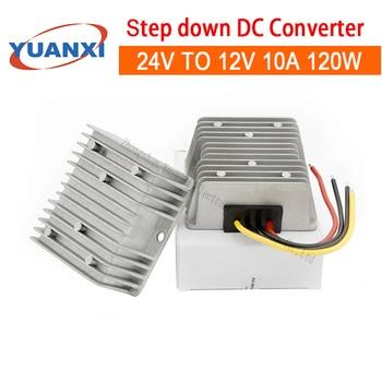 цена на 120W Step down DC converter 24V TO 12V 10A 120W dc dc converter